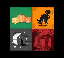 Halloween - 4 Boxes 2 by solnoirstudios