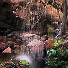 The Emerald pools by Robyn Lakeman