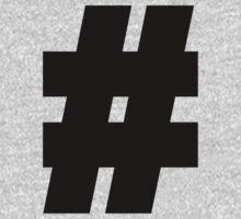 hashtag,internet,modern,#,nerd,geek,web One Piece - Long Sleeve