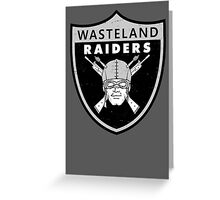 Wasteland Raiders Greeting Card