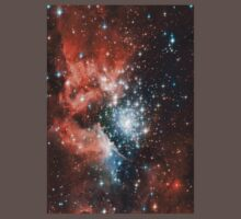 Red Galaxy 2.0 Kids Clothes