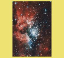 Red Galaxy 2.0 Baby Tee