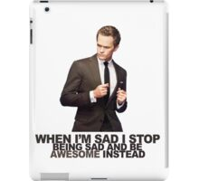 The Awesomeness that is Barney Stinson iPad Case/Skin