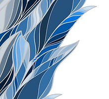 Bluebird feather luck by HelgaScand