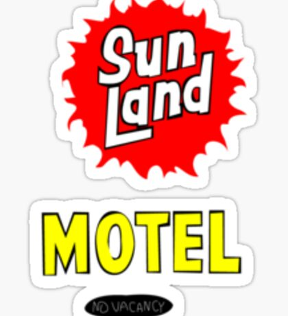 Sunland Motel Sticker