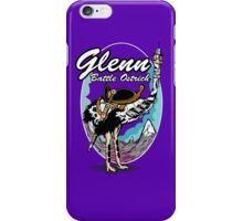 Glenn, Battle Ostrich iPhone Case/Skin