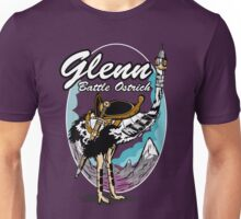 Glenn, Battle Ostrich Unisex T-Shirt