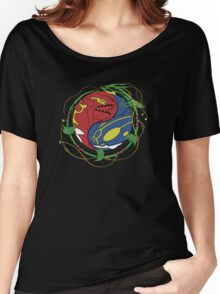 Mega Rayquaza Pokemon Women's Relaxed Fit T-Shirt