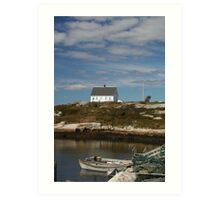 Peggy's Cove 5 Art Print
