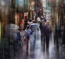 A Light Shower ........ by Lynda Heins