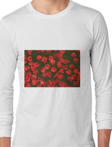 Poppies at the Tower Long Sleeve T-Shirt