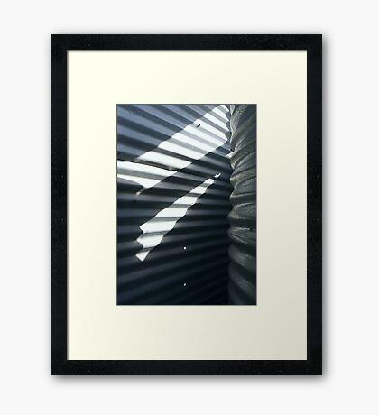 Light-Tank Framed Print