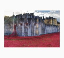 Poppies at the Tower T-Shirt