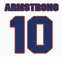 National Hockey player George Armstrong jersey 10 T-Shirt
