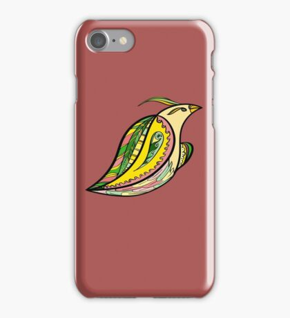 Fantastic bird iPhone Case/Skin