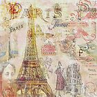 Paris Nights Paper 1 by travel124