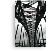 Under the span Canvas Print