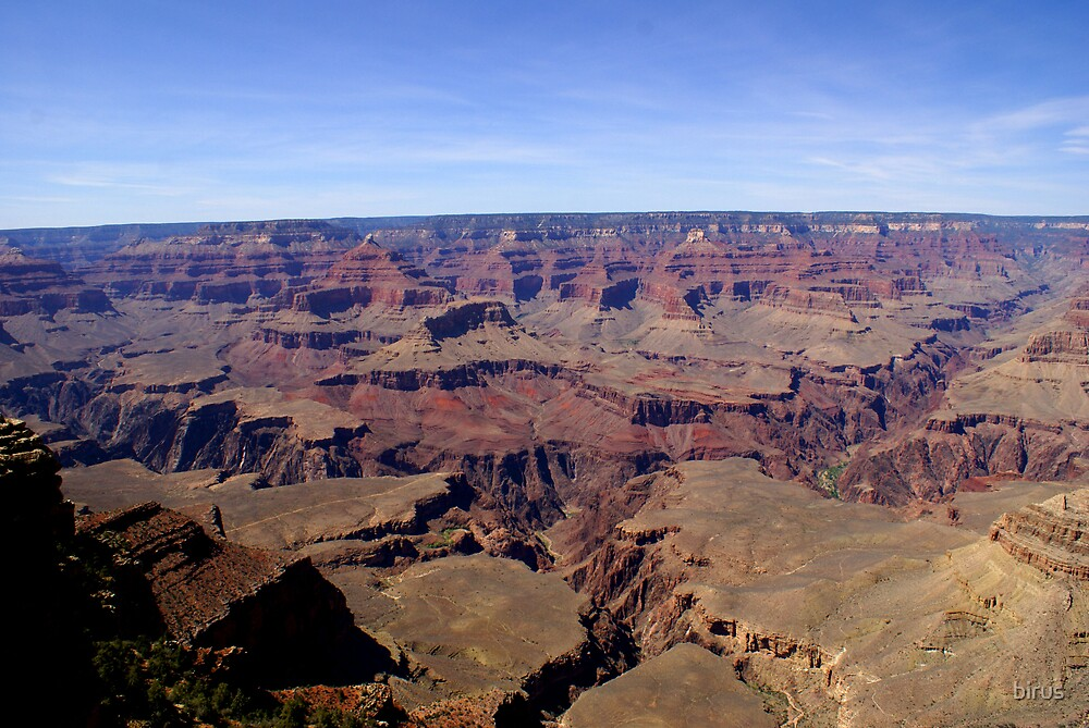 layers of the canyon by birus