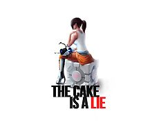 The cake is a lie by LimonTea