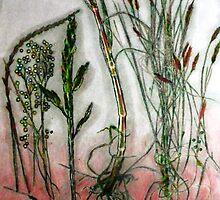 "Mornington Peninsula Grasslands 10 by Belinda ""BillyLee"" NYE (Printmaker)"