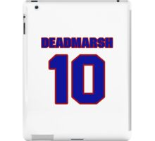 National Hockey player Butch Deadmarsh jersey 10 iPad Case/Skin