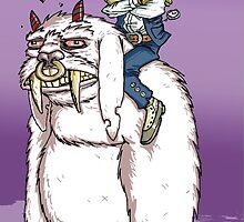 Beast Riding Gentleman-Hunter. by Tom Abel