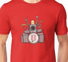 FRD - The funky Robo Drummer - BUBBLEROCK!!!! T-Shirt
