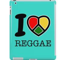 I love Reggae music... rasta maaaaaaan! iPad Case/Skin