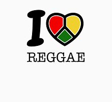 I love Reggae music... rasta maaaaaaan! Womens Fitted T-Shirt