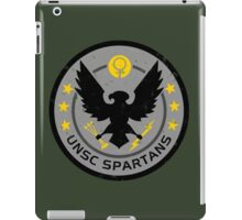 Spartan Patch iPad Case/Skin