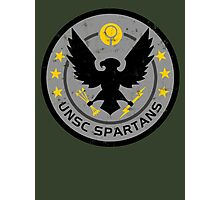 Spartan Patch Photographic Print