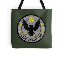 Spartan Patch Tote Bag