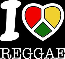 I love reggae. Black version! by 2monthsoff