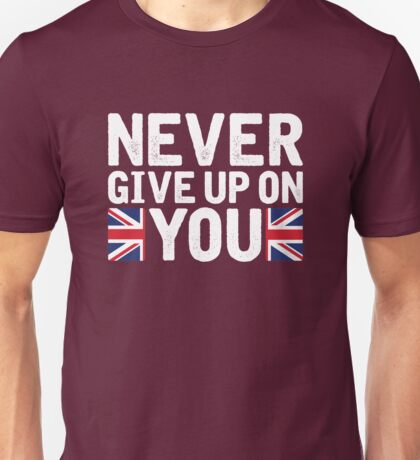 Lucie Jones - Never Give Up On You [2017, United Kingdom] Unisex T-Shirt