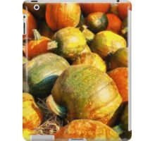 Colorful pumpkins for Halloween Scary Jack iPad Case/Skin