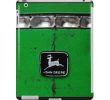 John Deere Front End of Tractor Logo Emblem Photograph iPad Case/Skin