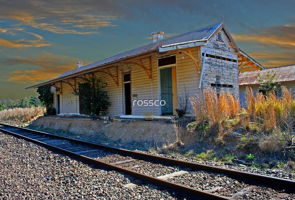 Glenreagh Railway Station by rossco