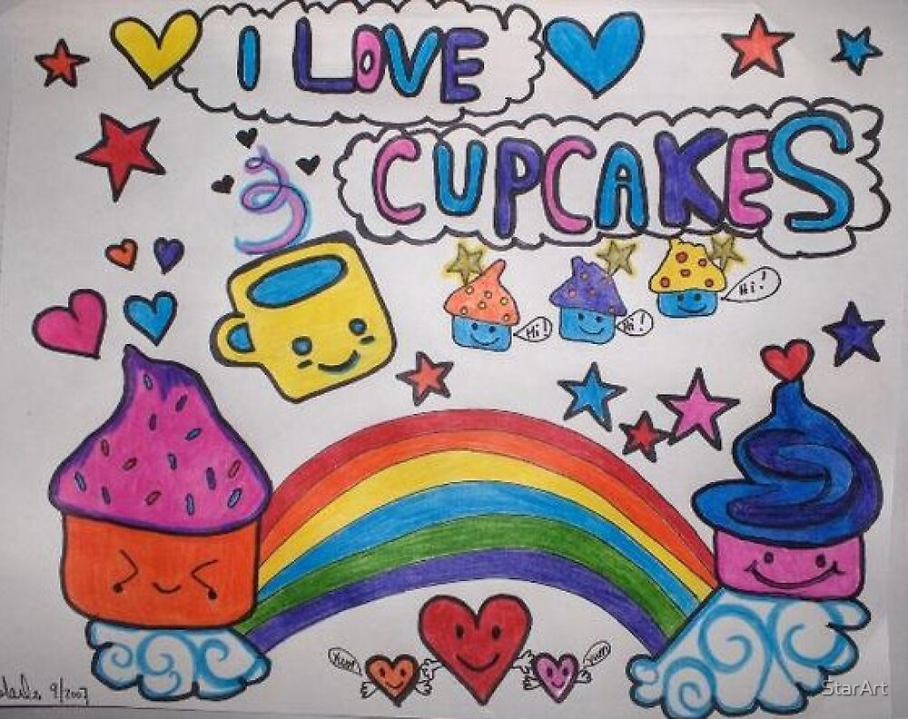 Cupcakes! by StarArt