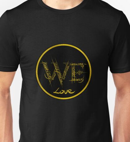 We - For Women Everywhere (Black Version) Unisex T-Shirt