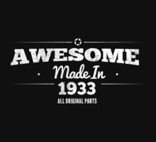 Awesome Made in 1933 All Original Parts by rardesign