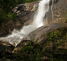 Seven Wells Falls 3 by Mark Snelson