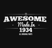 Awesome Made in 1934 All Original Parts by rardesign