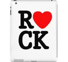 Music Lover. Love Rock. iPad Case/Skin