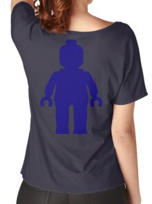 Minifig [Large Dark Blue], Customize My Minifig Women's Relaxed Fit T-Shirt