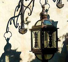 Old vintage metal street lantern lamp by ronyzmbow