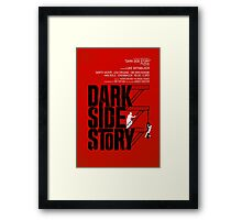 Dark Side Story Framed Print