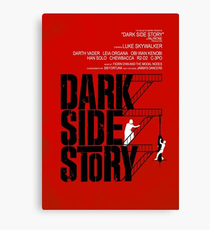 Dark Side Story Canvas Print