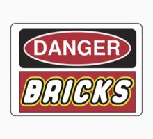 Danger Bricks Sign Kids Clothes