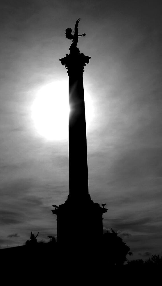 Midnight Pillar by grimbomid