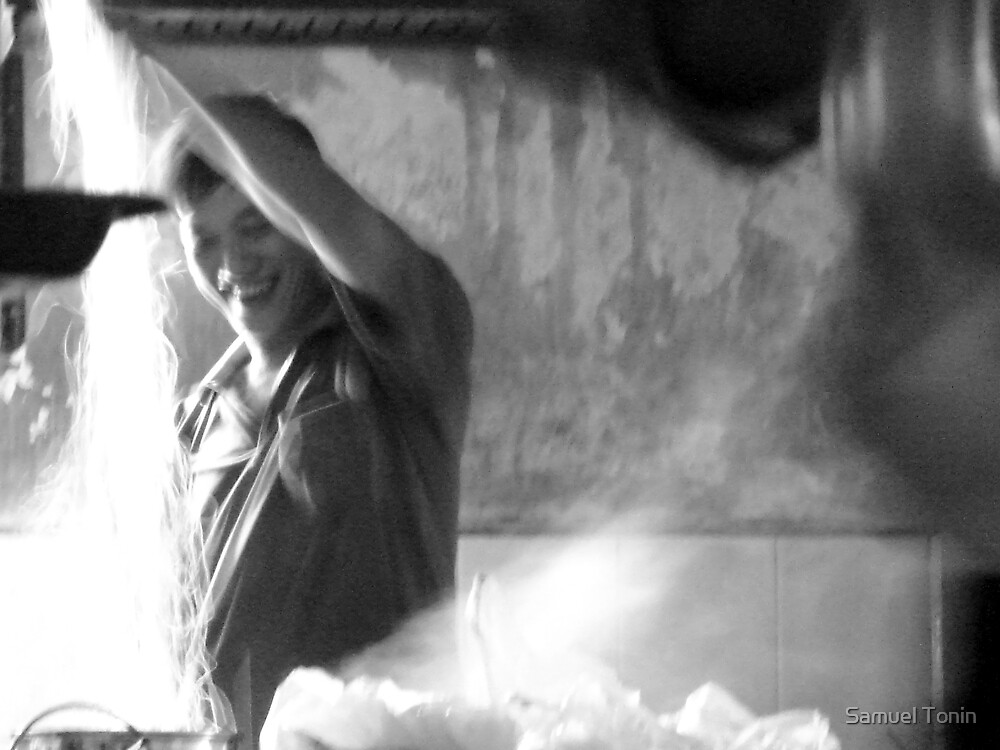 Happy Chef by Samuel Tonin
